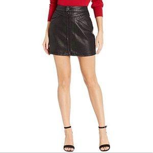 NWT Paige Jamine Skirt Sparkle Coating Skirt 28